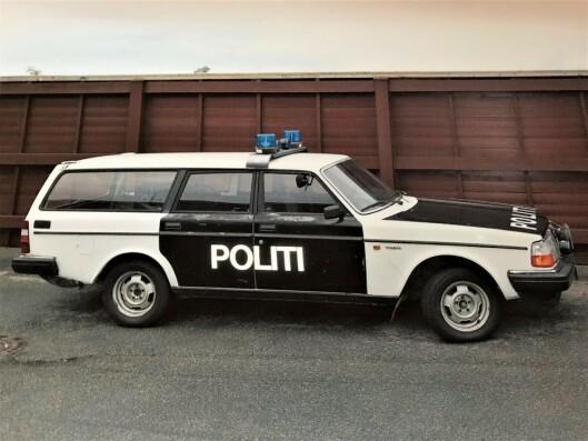 FØR RESTAURERING: Slik så bilen ut da den sto i Stavern.