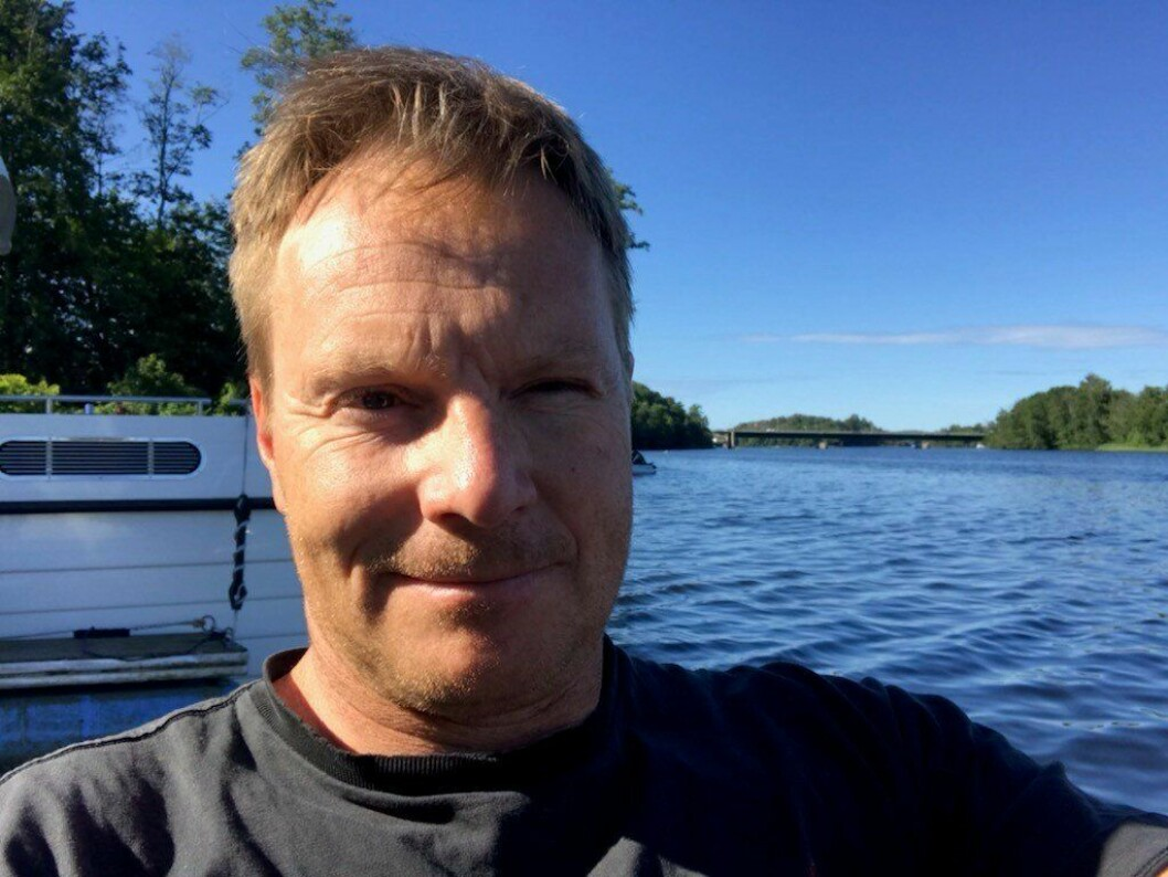 NORSK SOMMER: Per-Ludvik Kjendlie, leder av Politihøgskolens bacheloravdeling i Stavern, synes norsk sommer er best og skal feriere på hjemmebane.