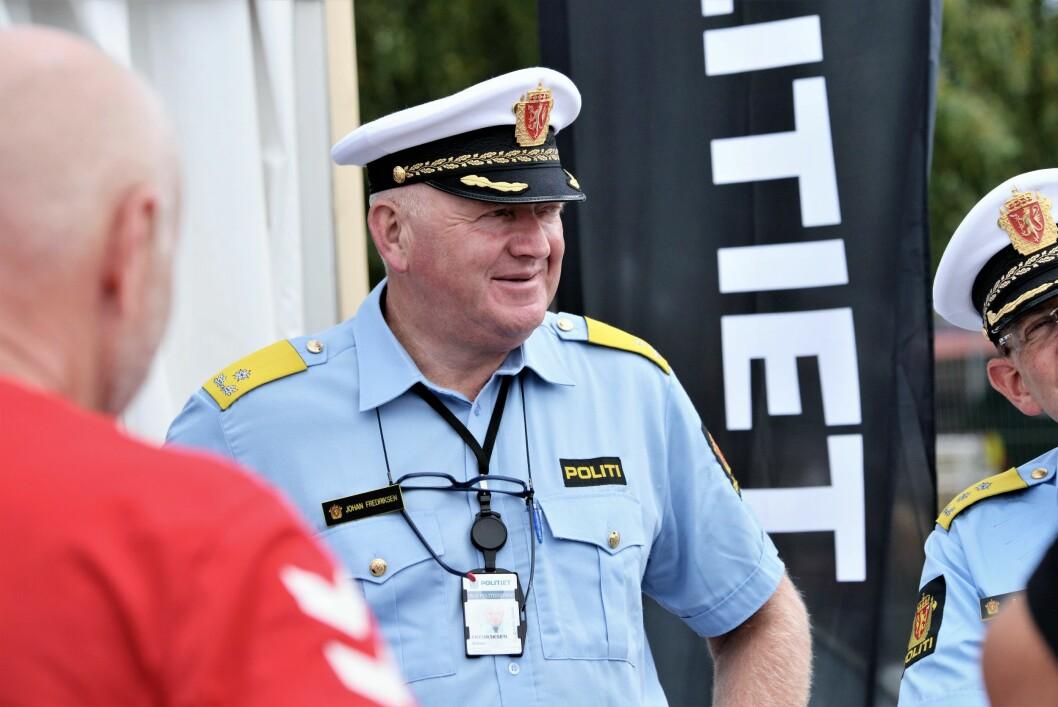 SKAL SLAPPE AV: Johan Fredriksen, konstituert visepolitimester i Oslo politidistrikt, får tid til å senke skuldrene i sommerferien.