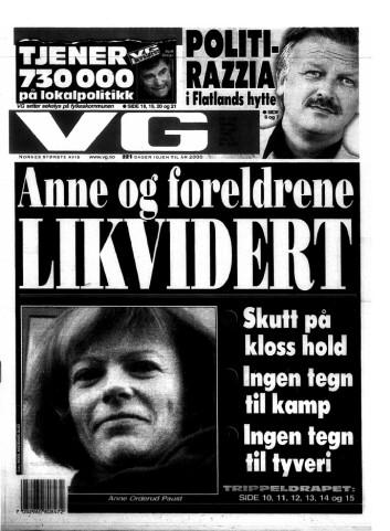 STOR MEDIEDEKNING: Arman Vestad skaffet to 22. kaliber pistoler. En av pistolene ble brukt i Orderud-drapene. Drapene sendte sjokkbølger gjennom Norge for 20 år siden, og Orderud-saken er en av de mest omtalte kriminalsakene i moderne tid.