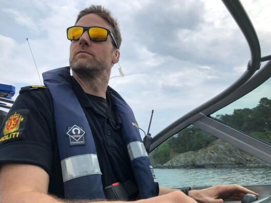 BEKYMRET: Koordinator for sjøtjenesten i Agder, Magnus von Porat Fiane, frykter ulykker når som helst.