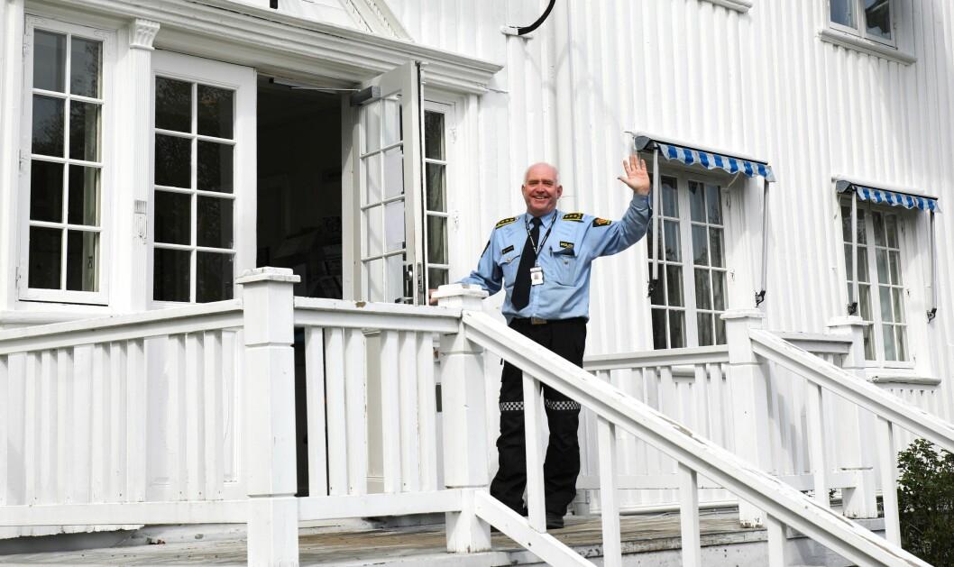 Øystein Skottmyr, politistasjonssjef ved Kragerø politistasjon.