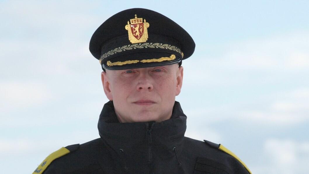 TAR OVER RORET: Trond Eirik Nilsen er konstituert politimester i Finnmark fra mandag.