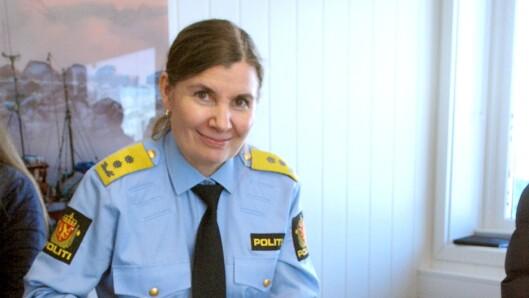 Ellen Katrine Hætta, politimester i Finnmark, blir konstituert leder for Politifagavdelingen i POD.