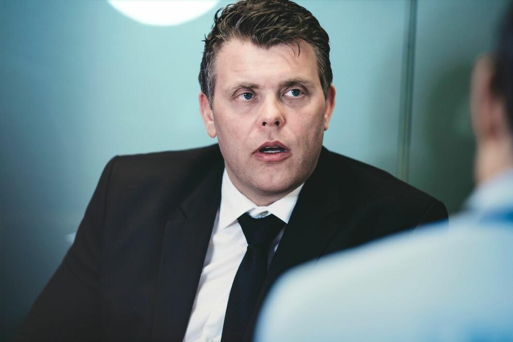 SVARER: Justis- og innvandringsminister Jøran Kallmyr (Frp) er uenig med Jenny Klinge (Sp) i at regjeringen ikke er interessert i å lytte til kritiske politistemmer.