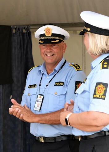 SKRYTER: John Roger Lund, leder for enhet øst i Oslo politidistrikt, setter stor pris på å ha slike som Morten Østraat med på Norway Cup-laget.
