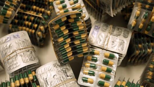 ILLEGALT MARKED: Tall fra Kripos viser en økning i beslag av det opioidholdige legemiddelet tramadol.