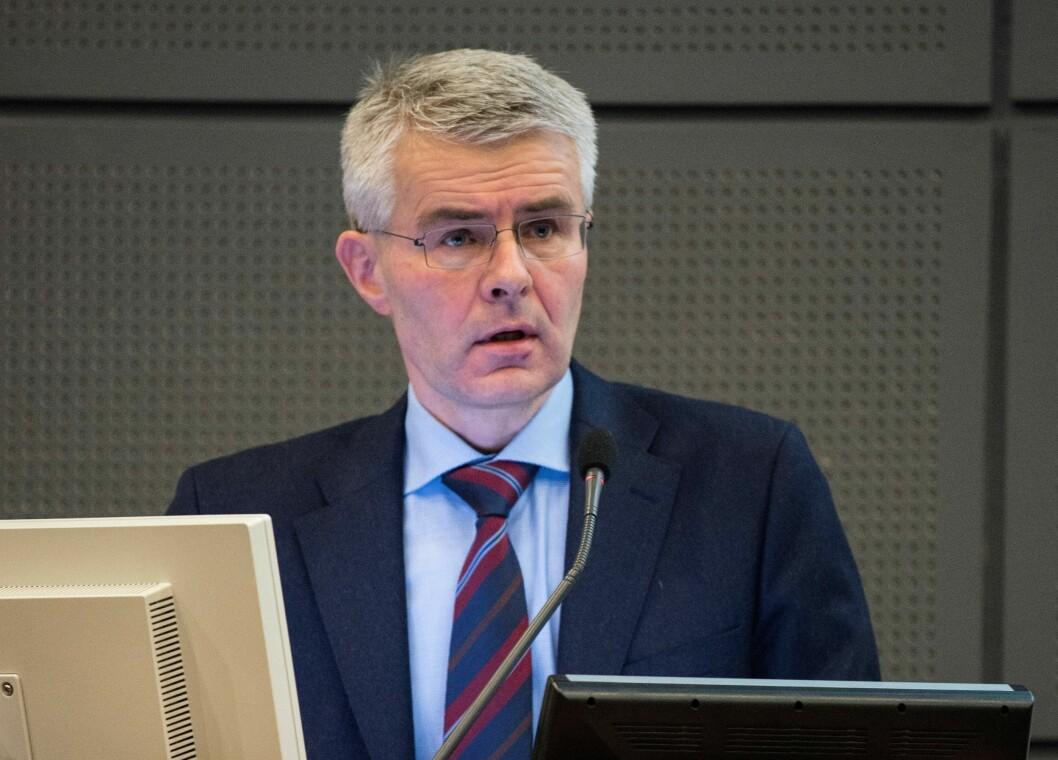 KLAR FOR NYE UTFORDRINGER: Trond Eirik Schea slutter som sjef for Økokrim etter ti år.