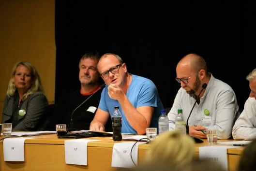 GODE MILJØER: Frode Jacobsen (Ap) trakk frem viktigheten av å skape gode miljøer for å forebygge ungdomskriminalitet.