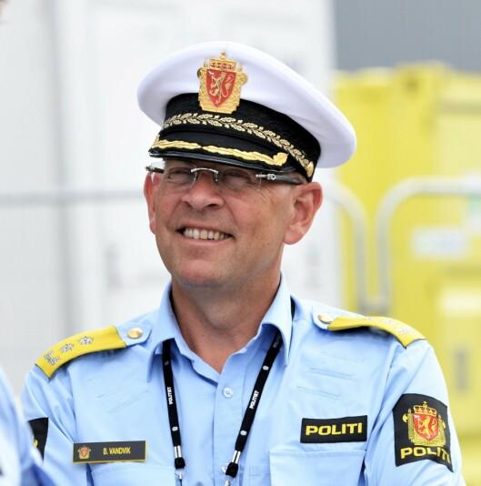 Bjørn Vandvik, visepolitimester i Oslo politidistrikt.
