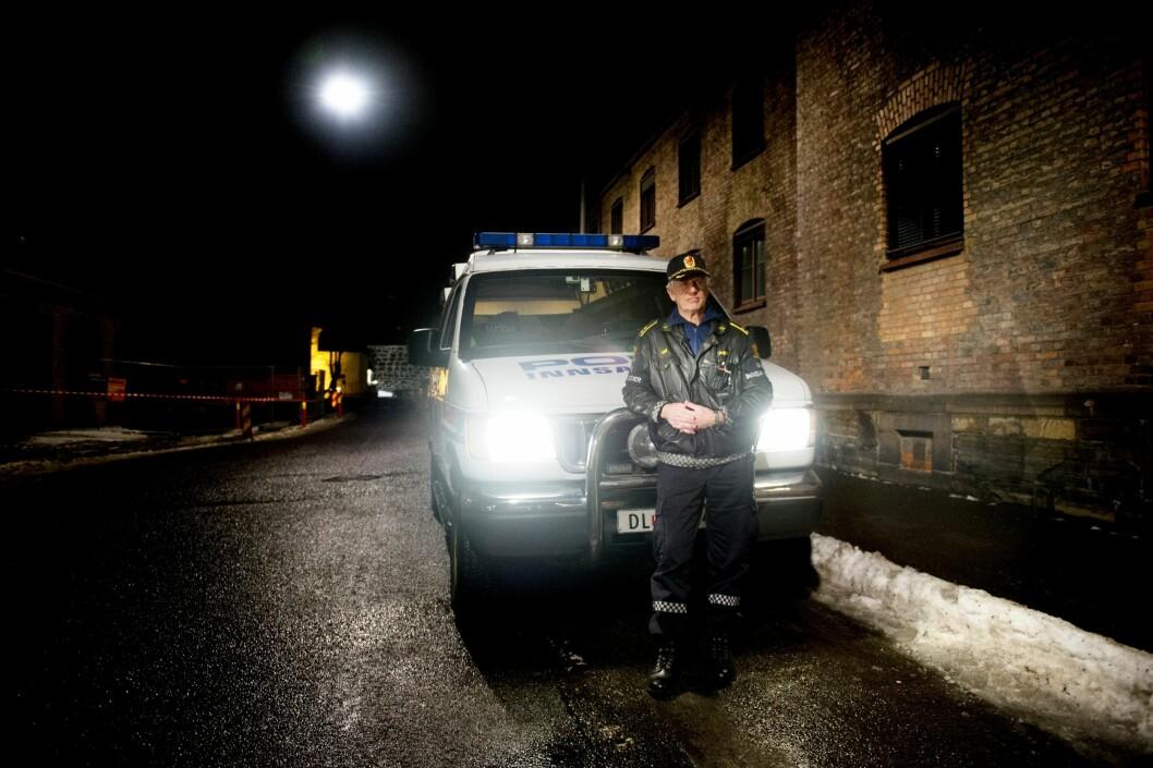 BLIR PENSJONIST: Thor Langli har jobbet operativt som politi  41 år, og stått midt i både 22. juli-terroren, fire flykapringer og gisselaksjonen på Torp i 1994. Nå går han av med pensjon.