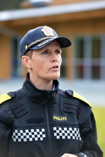 OPTIMIST: Seksjonssjef i POD, Elisabeth Rise, har stor tro på dronebruk i politiets operative arbeid.