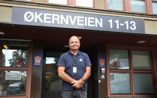 Sverre Monsen, leder av Politiets Fellesforbunds lokallag i Politiets utlendingsenhet (PU).