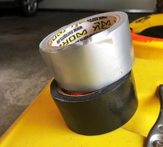 På tide å sette en stopper for forvirringen rundt gaffatape og duct-tape, en gang for alle.