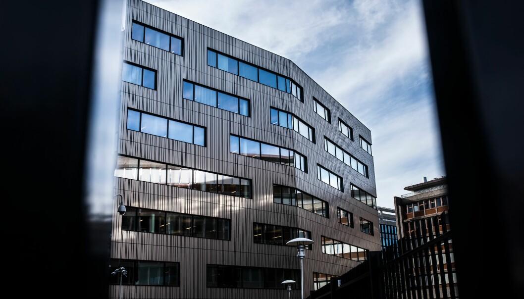 LAV TILLIT I IKT-AKSEN: Evalueringsrapporten peker på at politietaten har betydelige utfordringer innen IKT, og at det er lav tillit mellom POD og PIT, som også deler kontorbygg på Majorstuen i Oslo.