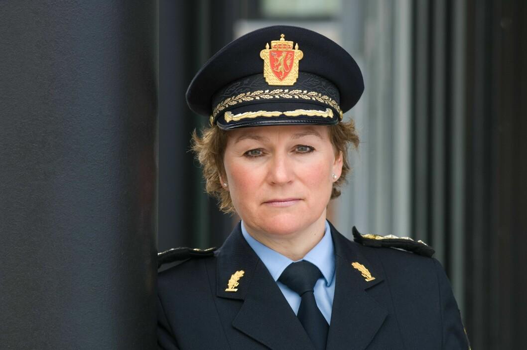 Politimester Christine Fossen i Sør-Øst politidistrikt.