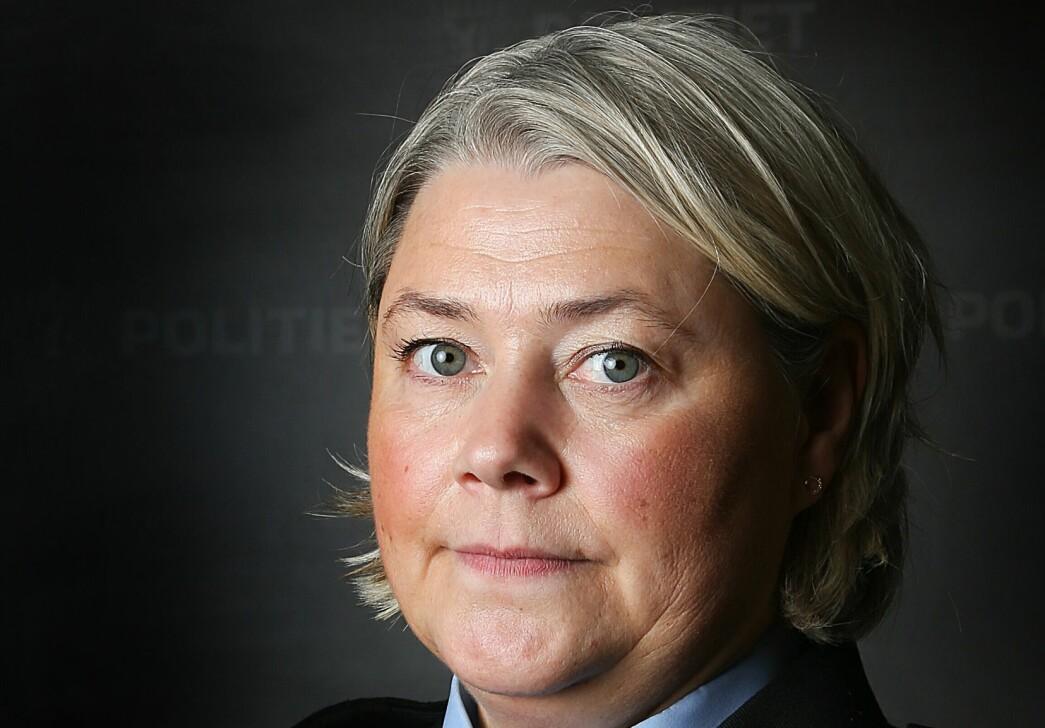 STANSER ORGANISASJONSJUSTERINGER: Politimester i Troms politidistrikt Astrid Nilsen har besluttet å skrinlegge prosessen om å slå sammen lensmannsdistrikter i Troms.