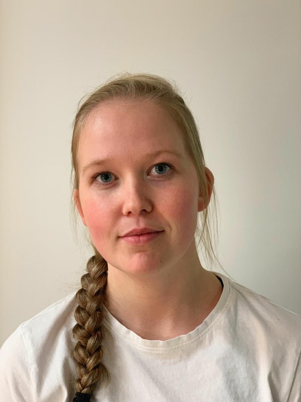 Anette M. Kyllingmo, styremedlem i PF Politistudentene.
