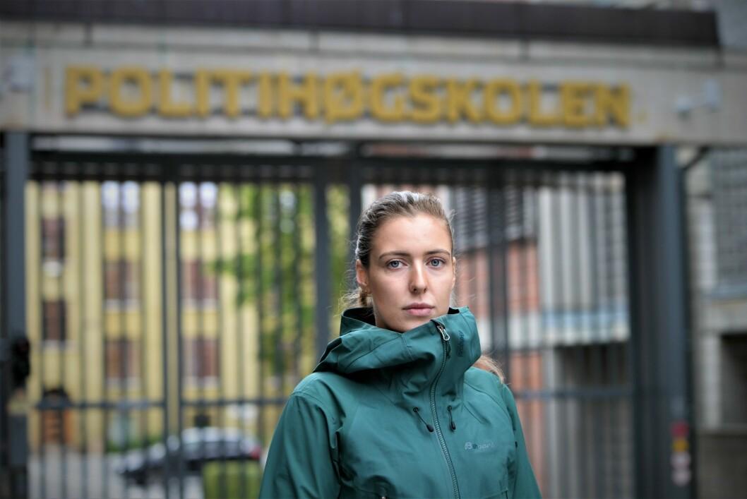 LEDER VIDERE: 25. oktober ble nytt stre for PF Politistudentene valgt. Der ble det klart at Lisa Figenschou fortsetter som leder.
