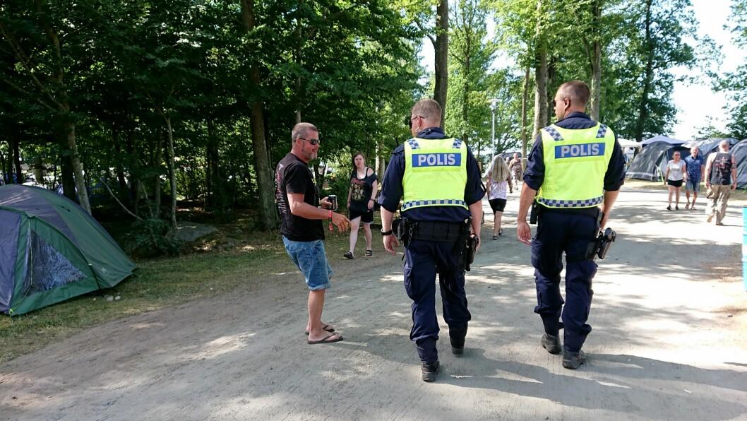 TAR BORT PERSONNUMMER: Svensk politi får nye ID-kort. Bildet er tatt i en annen sammenheng.