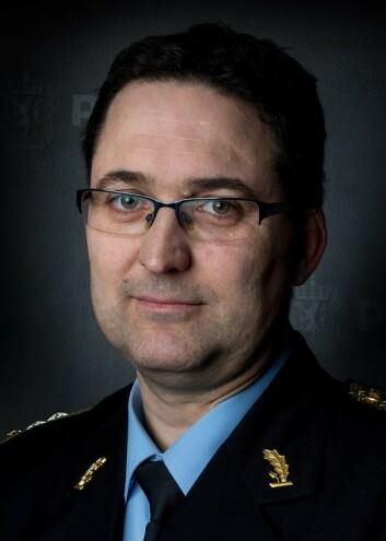 Politimester Ole Bredrup Sæverud.