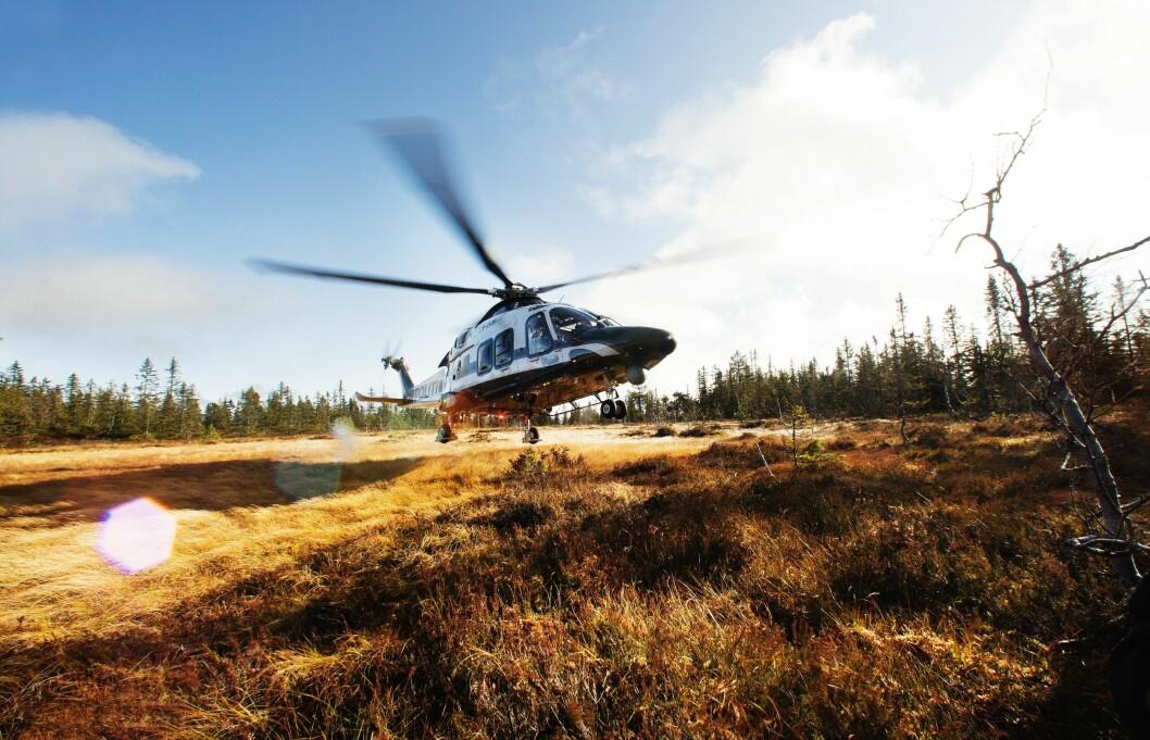 Politiforum, Politihelikopter, Gardermoen, Helikopter