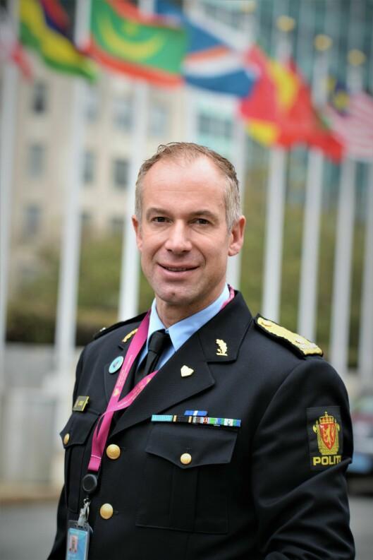 NORGESVENNER: Politiråd Jon Christian Møller forteller at norsk politi er ettertraktet internasjonalt.