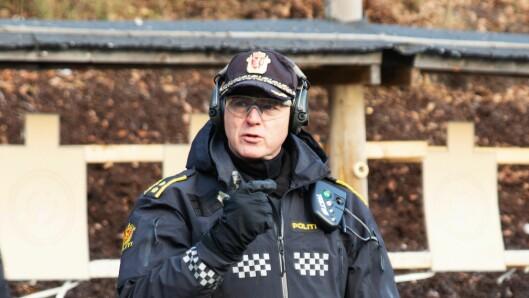 POPULÆRT: Årlig er 1700- 1800 personer innom forskjellige skytekurs i regi av PHS, forteller politioverbetjent Kai Inge Schaathun Larsen.