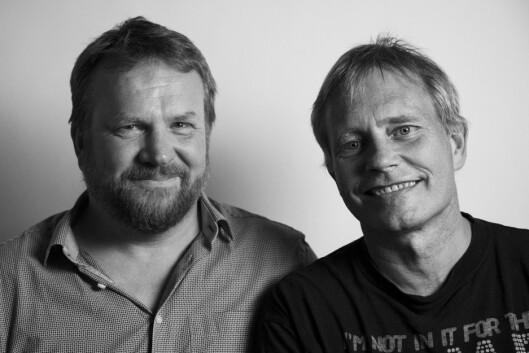 Bård Dyrdal, politioverbetjent og leder i LEAP Scandinavia og Arild Knutsen, leder i Foreningen for human narkotikapolitikk.