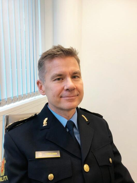 Tom Korneliussen, fungerende avdelingsleder Kripos.