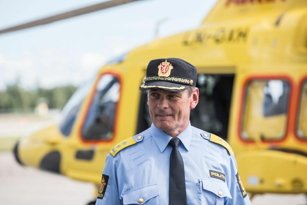 FORLATER POD I ETT ÅR: Knut Smedsrud.