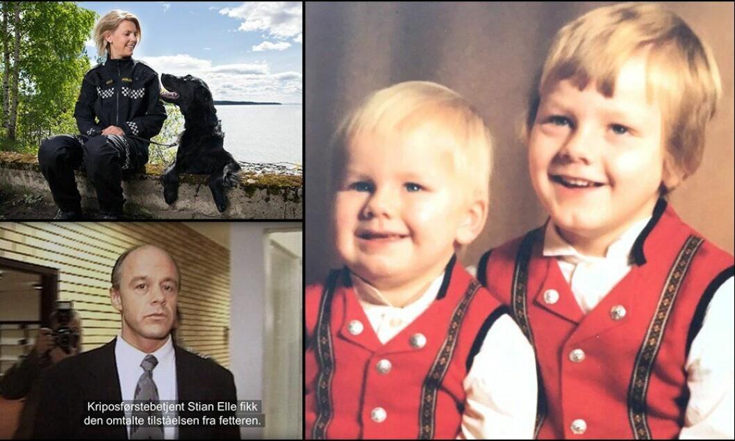 Saken om de to brødrene Arman og Stian Vestad (til høyre) var den mest leste på Politiforum.no i 2019. Også historien om hundefører Tina Edvardsen og Birgitte Tengs-etterforsker Stian Elle kom med på topp 10-lista.