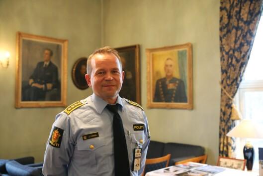 Jan Eirik Thomassen, driftsenhetsleder ved Oslo politidistrikt, var seksjonssjef i Politidirektoratet i 2015.