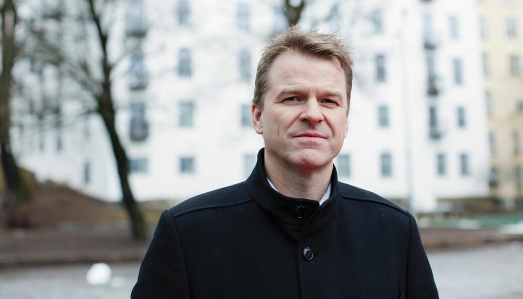 Forbundsleder Sigve Bolstad i Politiets Fellesforbund.