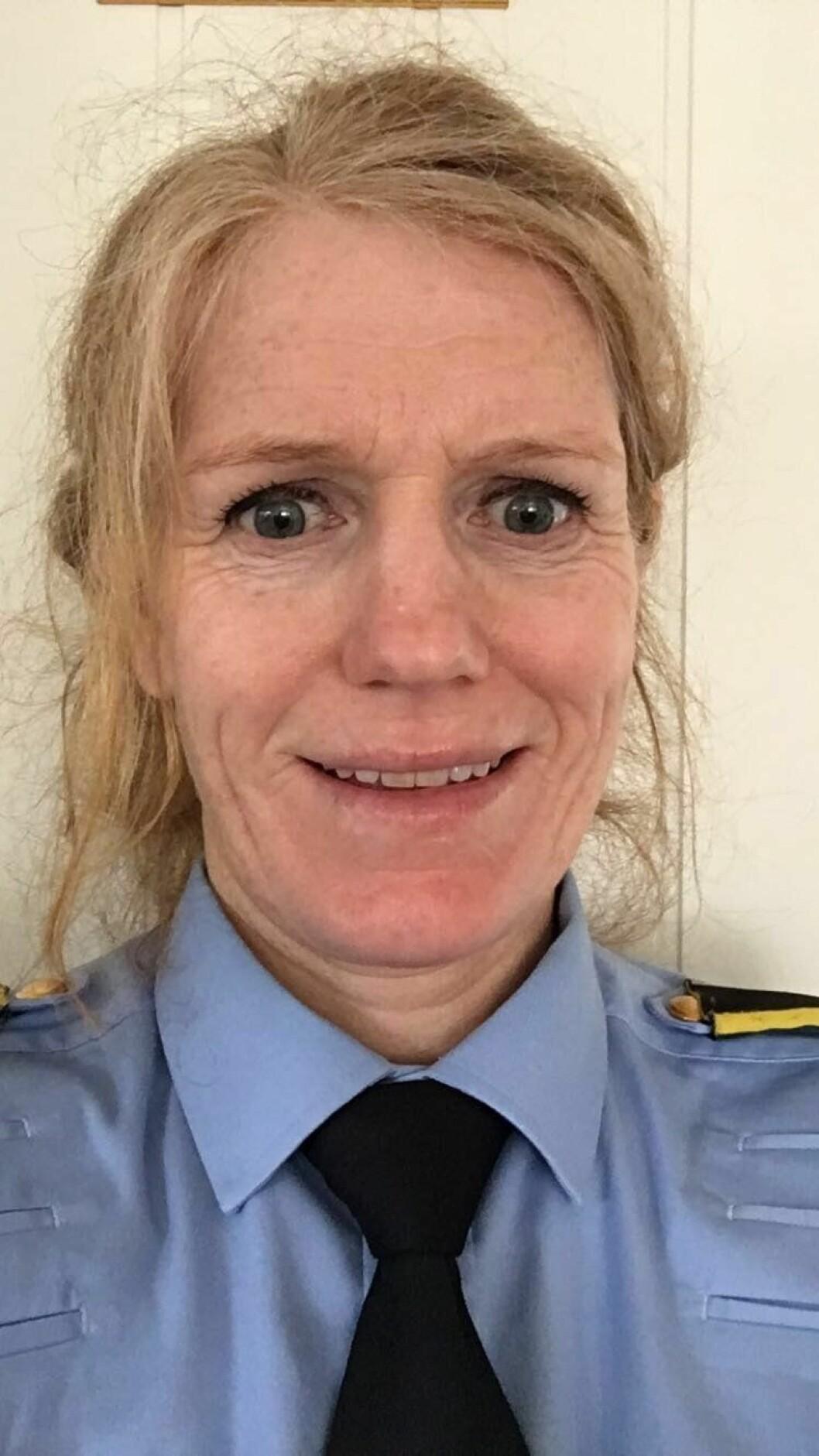 Marianne Mørch, operasjonsleder i Sør-Øst politidistrikt.