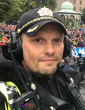 Kjetil Hordnes, politioverbetjent og instruktør i Vest politidistrikt.