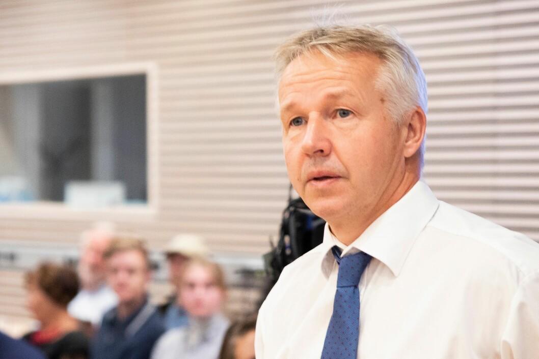 Jan Egil Presthus døde av hjertestans i går, melder Spesialenheten for politisaker. Bildet er tatt da Presthus var aktor under Eirik Jensen-saken.