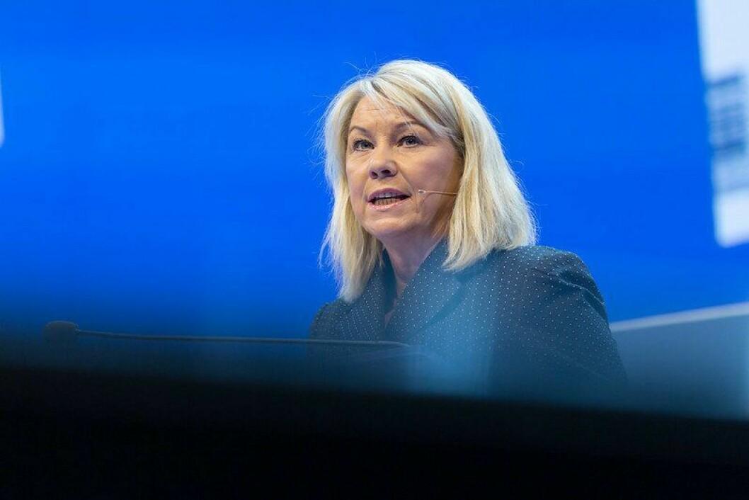 Monica Mæland (H) er ny justisminister.