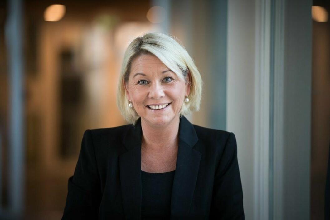 NY JUSTISMINISTER: Monica Mæland (H) tok fredag over som justis- og beredskapsminister.