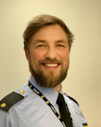 Even Bergan jobber til daglig på operasjonssentralen i Øst politidistrikt.