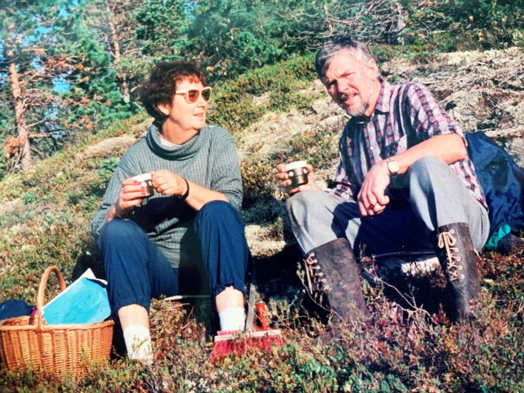 DRAPSOFFER: Marie-Louise Bendiktsen ble drept i 1998. Det skulle ta 20 år før gjerningsmannen ble pågrepet. Her sammen med ektemannen Håkon Bendiktsen, som gikk bort i 1994.
