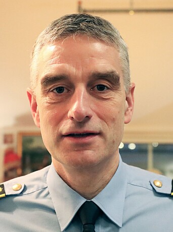 Andreas Nilsen, driftsenhetsleder i Midt-Troms lensmannsdistrikt.