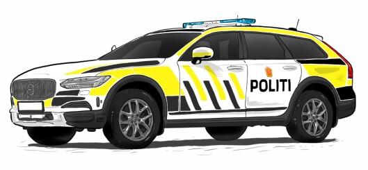 KONKURRANSE: Bilene som var aktuelle som politiets nye patruljebil gikk gjennom omfattende testing.