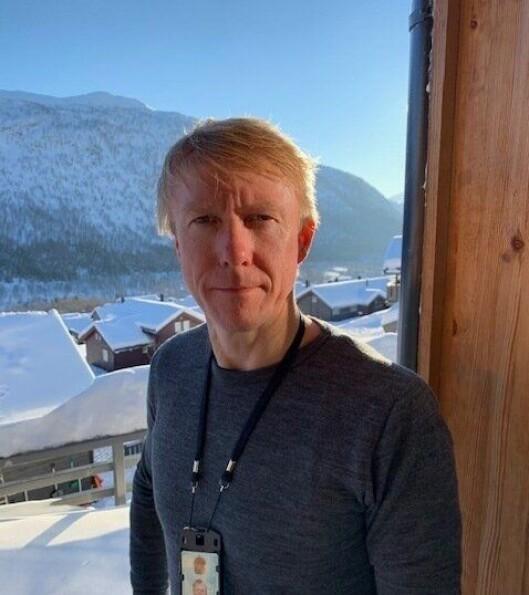 Ørjan Hjortland, lokallagsleder for Politiets Fellesforbund Vest.