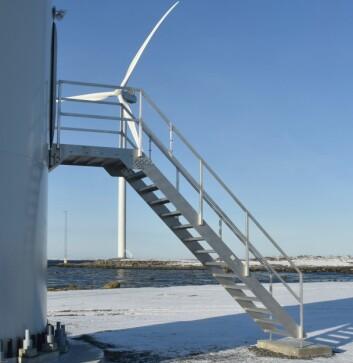 STORUTBYGGING: Utbyggingen av vindmølleparkene på Fosen er Europas største vindmølleutbygging på land.