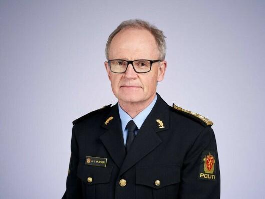 Arne Jørgen Olafsen, leder av Politiets utlendingsenhet.