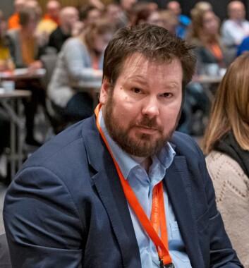Einar Kaldhol, hovedtillitsvalgt i Parat Politi.