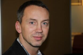 Vegard Monsvoll, leder av sivilutvalget i Politiets Fellesforbund.