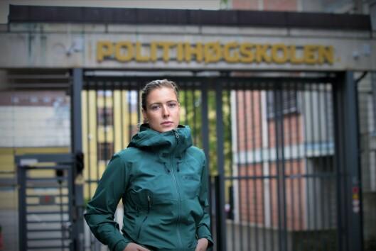 Lisa Figenschou, leder av PF Politistudentene.