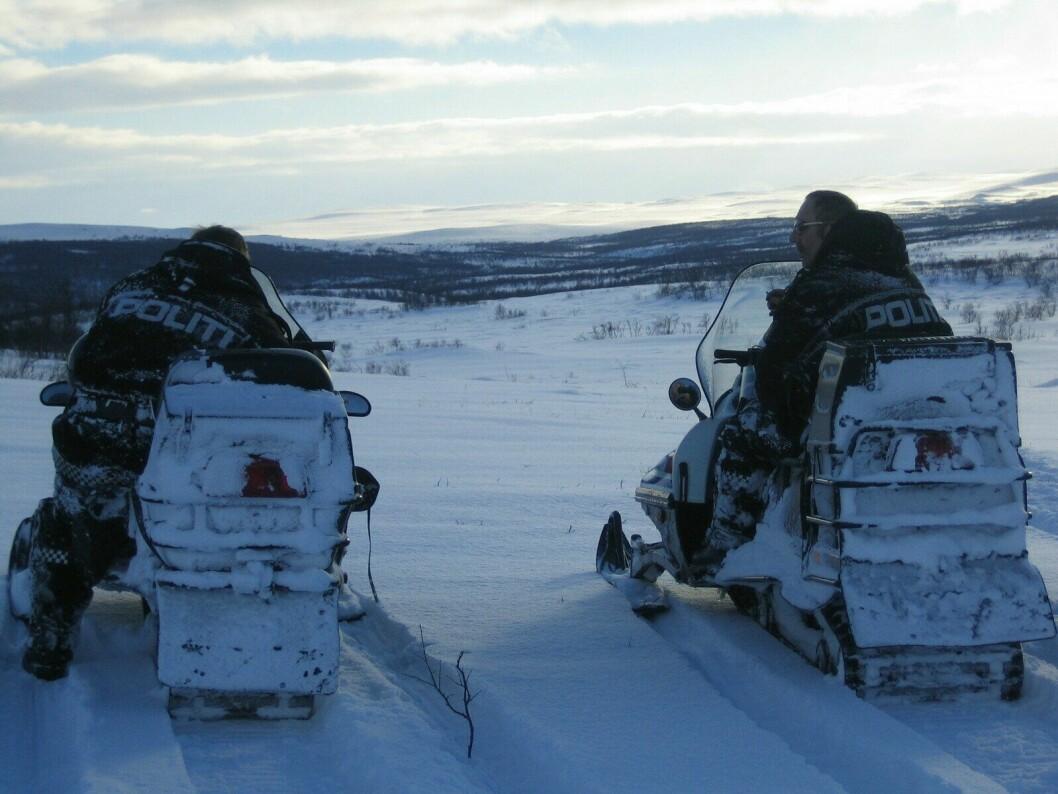 SNØSKUTER: Færre enheter skal ha snøskuter i Finnmark. Bildet er tatt i en annen sammenheng.